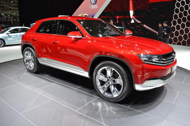 Volkswagen Cross Coupe TDI is Efficient and Powerful: 2012 Geneva Auto Show