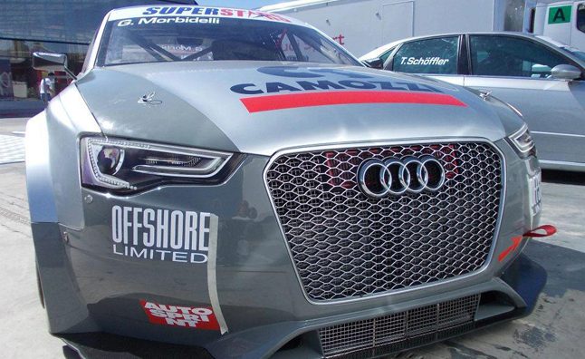 Audi RS5 Superstars Series Race Car Revealed With Grille-tastic Grille