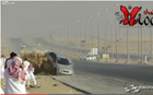 Drifting Session in Saudi Arabia Gone Wrong- Video