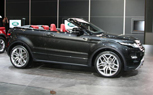 Range Rover Evoque Convertible Concept in Search of a Market: 2012 Geneva Motor Show