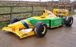 Michael Schumacher's 1992 Benetton-Ford Formula 1 Race Car For Sale