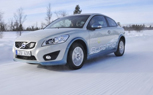 Volvo Shows Off The C30 Electric In Very Cold Climate
