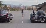 Batmobiles Go Drag Racing, Bikini Model Washes Them – Video