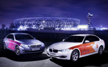 BMW 2012 Olympic Fleet Vehicles Livery Unveiled
