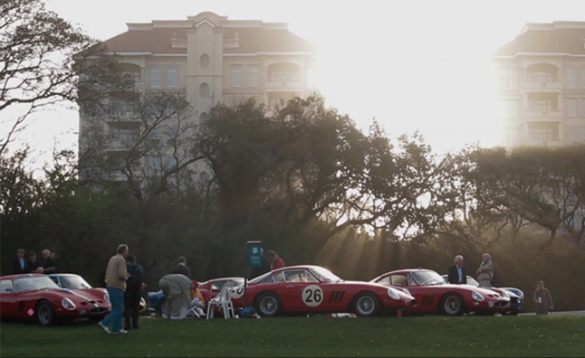 Watch $150 Million Worth Of Ferraris Hit the Road at the Amelia Island Concours – Video