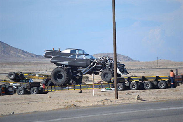 "New Mad Max Movie Car ""Gigahorse"" Found On Set"