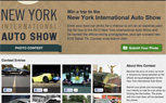 Win a Trip to the New York Auto Show