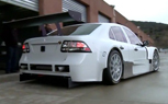 Saab 9-3 TTA Race Car Hits the Track – Video
