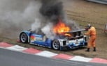 Toyota Prius GT300 Race Car Catches Fire During Testing – Video