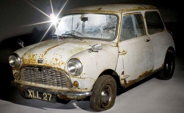 Oldest Unrestored Mini Heading to Auction