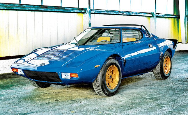 Ultra-Rare Lancia Stratos Hitting the Auction Block