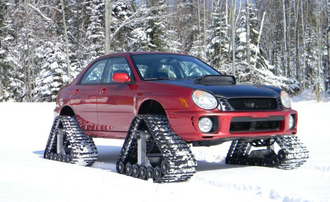 Subaru Impreza WRX with Track System Could be Yours – Video