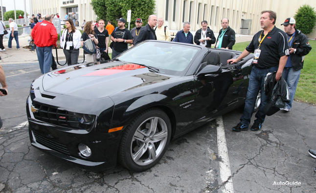 First 45th Anniversary Chevrolet Camaro Convertible Racks Up $150,000 at Auction