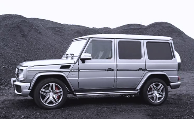 2013 Mercedes-Benz G63 AMG Videos Show Gorgeous Detail