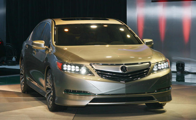 Acura RLX Replaces RL With 370 HP V6 Sport Hybrid SH-AWD: 2012 NY Auto Show