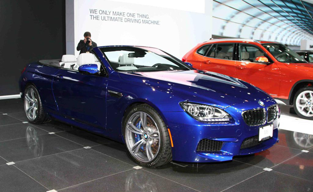 2013 BMW M6 Cabriolet Breaks Cover: 2012 New York Auto Show