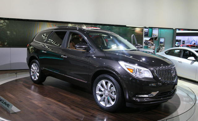 2013 Buick Enclave Debuts With Light Update: 2012 New York Auto Show