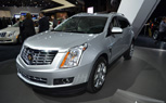 2013 Cadillac SRX Features CUE Infotainment System: 2012 New York Auto Show