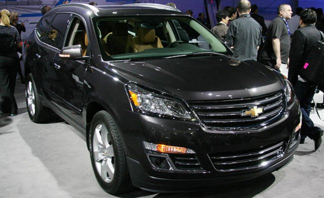 2013 Chevrolet Traverse Has Same Engine, New Look: 2012 New York Auto Show