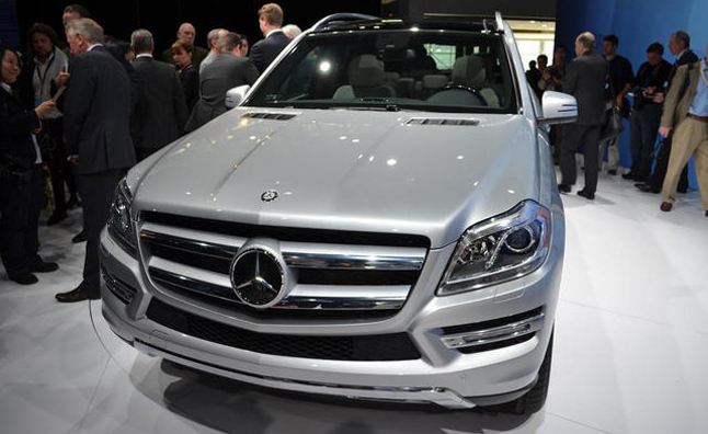 2013 Mercedes-Benz GL-Class Has Smaller Engine, More Power: 2012 NY Auto Show
