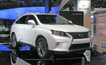 Lexus RX 350 F Sport All Show, No Go: 2012 New York Auto Show