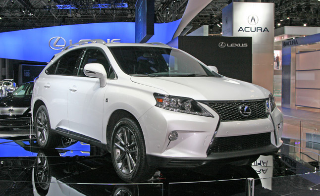 2013 Lexus RX, IS and GS 450h Pricing Announced