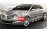 2013 Lincoln MKZ Photos Leaked Ahead of 2012 New York Auto Show