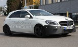 2013 Mercedes-Benz A25 AMG Spy Photos
