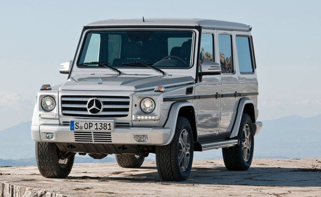 2013 Mercedes G-Class: G63 AMG Model Introduced With 544-HP
