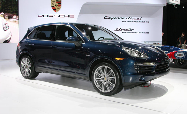 Porsche Cayenne Diesel Arrives in America with 406 Lb-Ft of Torque: 2012 NY Auto Show