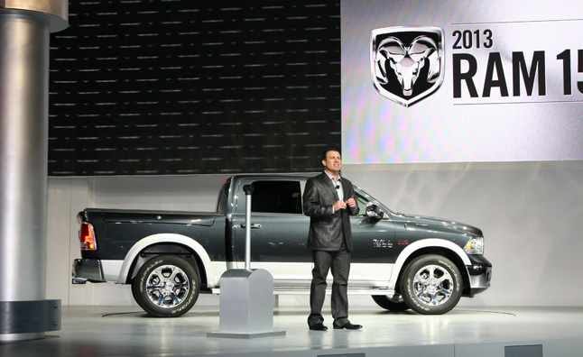 2013 Ram 1500 Gets 8-Speed Auto, Air Suspension: 2012 NY Auto Show
