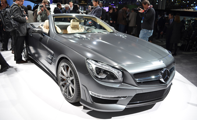 2013 Mercedes-Benz SL65 AMG Debuts at New York Auto Show