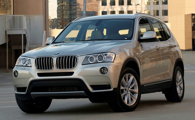 2013 BMW X3 xDrive28i Rated at 24 MPG Combined