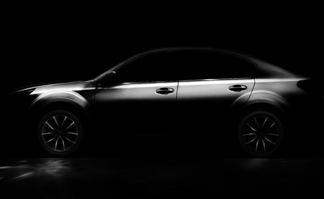 2013 Outback Sedan Teased for Beijing Debut?