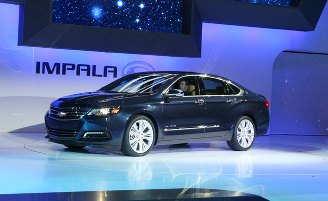 2013 Chevy Impala Aims to Shed Fleet Car Stigma with Camaro Style: 2012 NY Auto Show