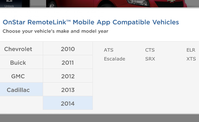 2014 Cadillac ELR Also Hinted in OnStar App