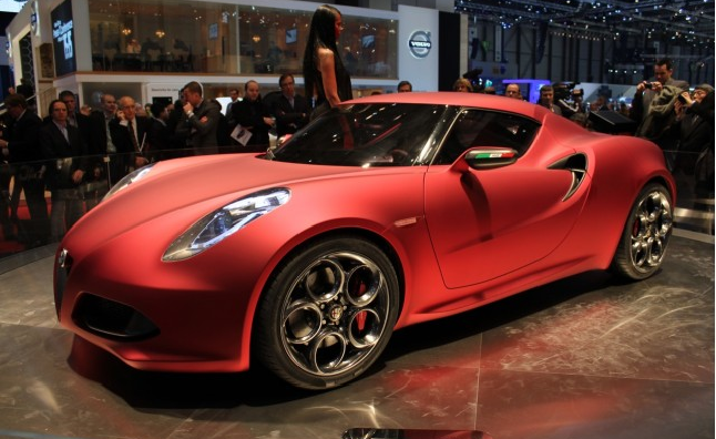 Alfa Romeo 4C Trademark Granted For US Market Relaunch