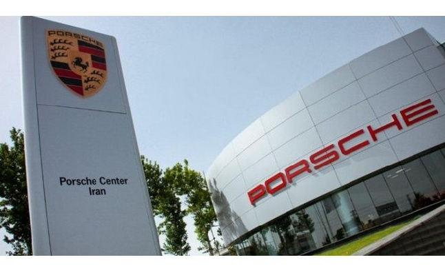 Porsche Shutters Operations in Iran