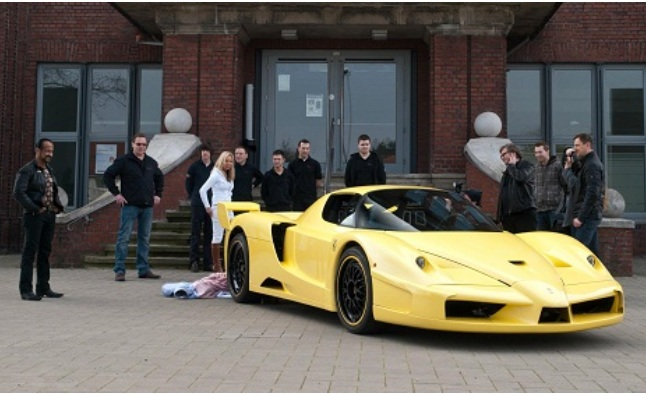 Zahir Rana Ready for Targa Newfoundland with 950-HP Ferrari