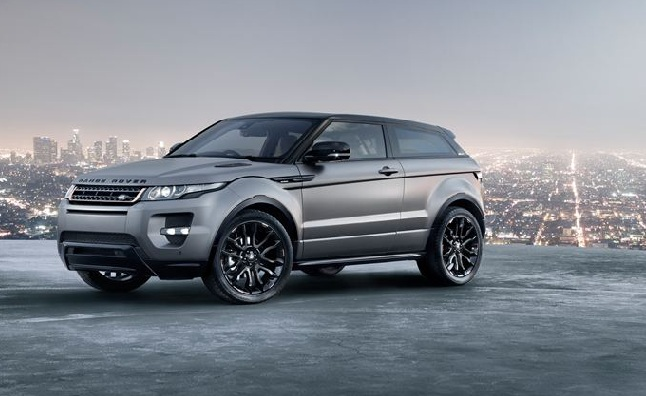 Land Rover Evoque Victoria Beckham Special Edition is One Posh Ride [Video]