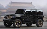 Jeep Wrangler Dragon Design Concept Bows at Beijing Auto Show