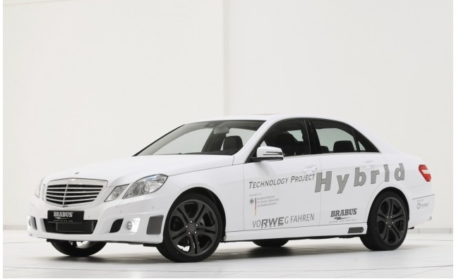 Brabus Drops The V12 For Hybrid-Diesel For Latest Technology Project Hybrid