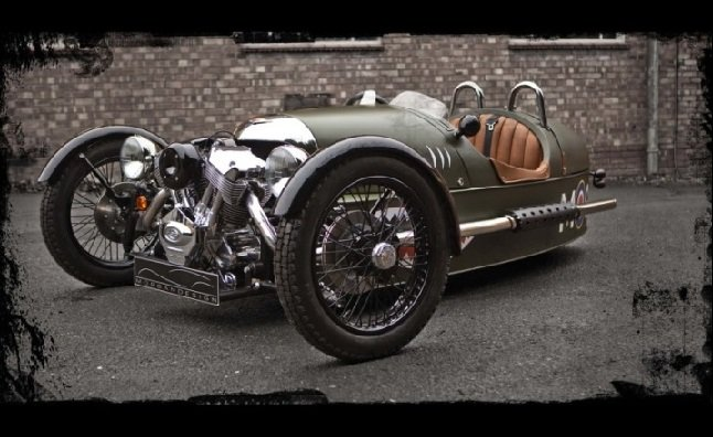 Morgan Three-Wheeler Offered For U.S. Market Later This Year