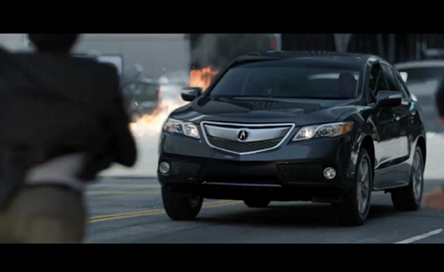 2013 Acura RDX Commercial Brings Out Your Inner Action Hero