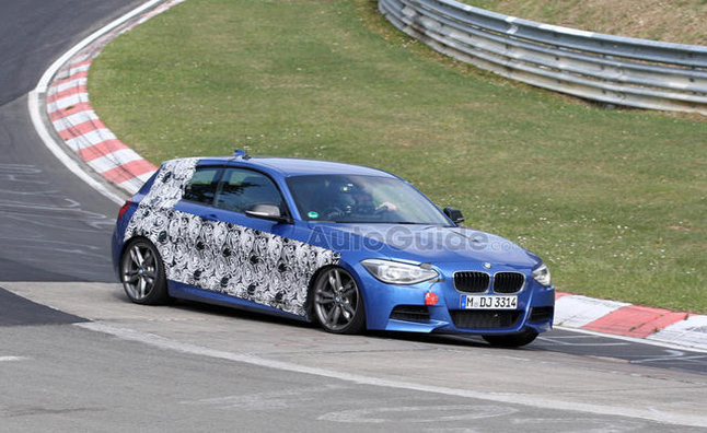 BMW M135i Hot-Hatch Caught Testing in Spy Photos