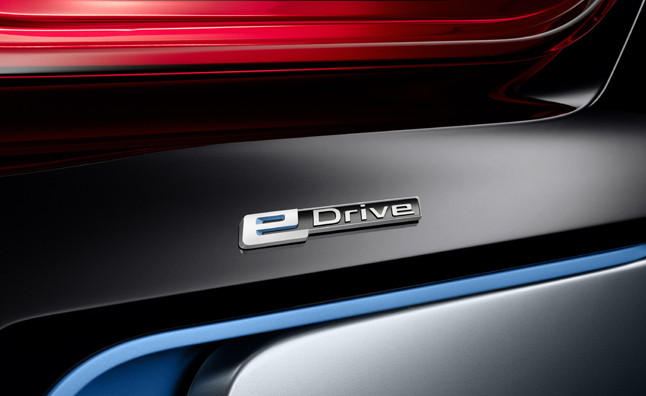 BMW EVs and Plug-In Hybrids now Called eDrive