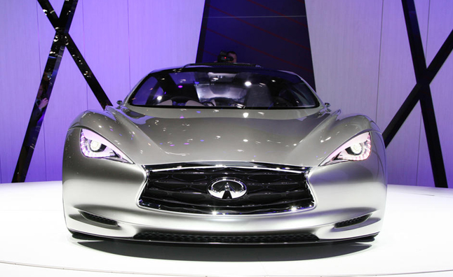 Infiniti Emerg-E Concept Borrows Platform from Lotus Evora