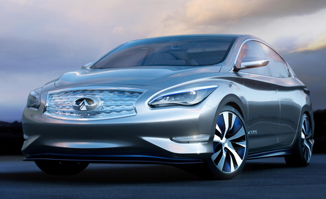 Infiniti LE Concept is French for Luxury Electric: 2012 NY Auto Show