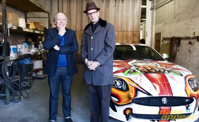 Brooklyn Graffiti Artist Paints Jaguar XKR, Ian Callum Approves