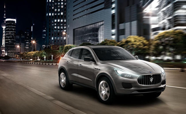 Maserati Kubang Production Version to Bow at 2014 Detroit Auto Show